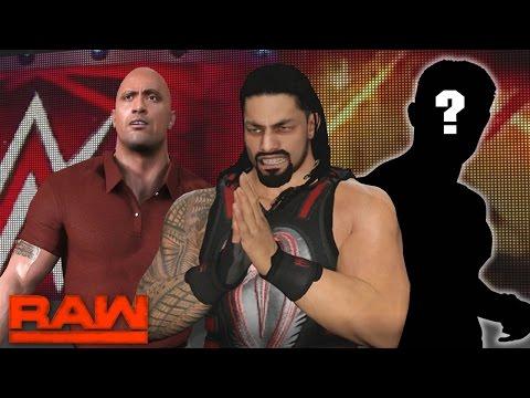 WWE RAW 2K17 Story - Roman Reigns Returns & New GM Revealed | 03/04/17