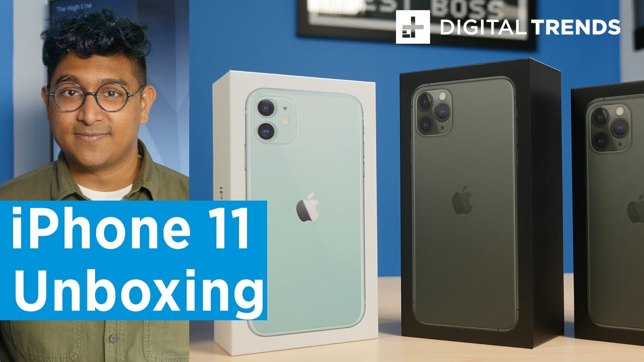 iPhone 11, iPhone 11 Pro Unboxing – Apple Delivers Again