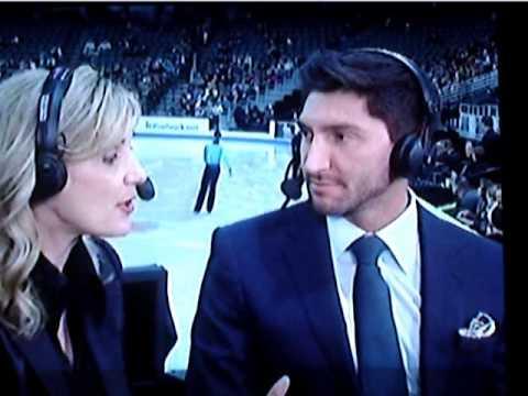 Evan Lysacek - NBC Interview - 2013 US Nats