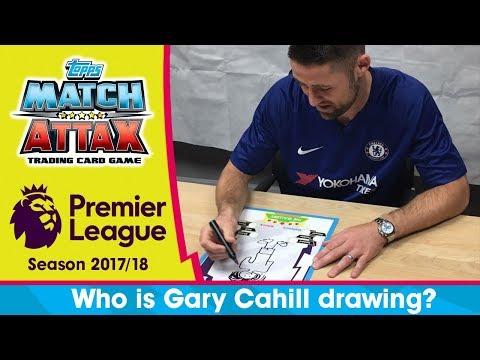 WHICH CHELSEA TEAMMATE IS GARY CAHILL DRAWING?