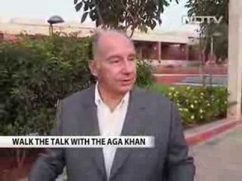 Walk the Talk with His Highness The Aga Khan