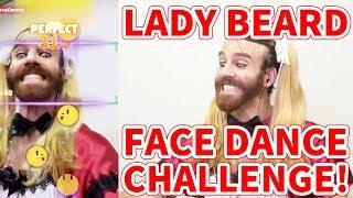 今回はビアちゃんが『顔で遊ぶ』ゲームフェイスダンスチャレンジに挑戦...