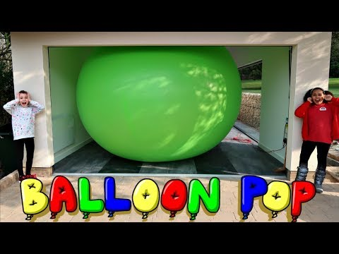 DIY Giant Balloon Experiment!  LOL Surprise Confetti Pop Dolls | Toys AndMe