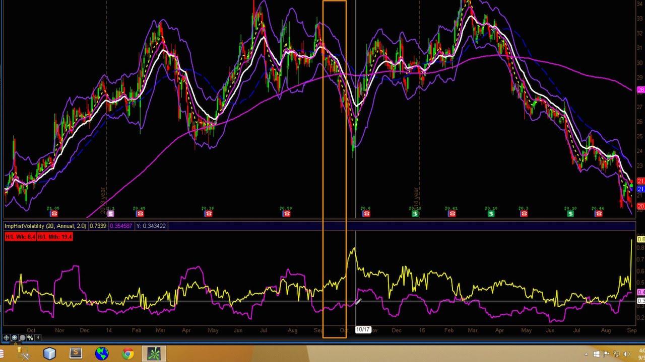 Implied volatility chart thinkorswim forex forward looking statements investopedia forex