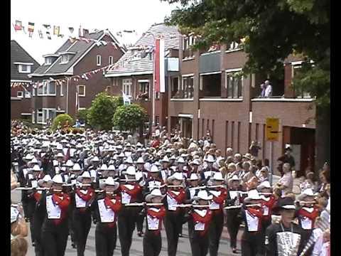 Stampede Showband Calgary World Music Contest Kerkrade Street parade