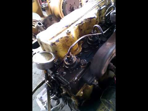 Cat 3304 Counter Balance Shaft Timing Trick By CableCATs