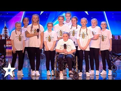 INSPIRATIONAL Dance Group RISE Pay Tribute To Manchester On Britain's Got Talent 2018