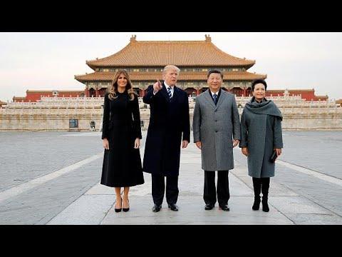 Trump lands in Beijing with get tough message over North Korea