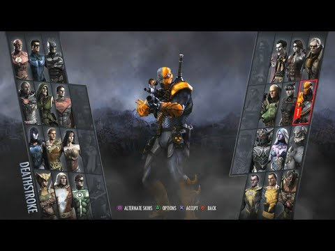 Injustice: Gods Among Us Arcade #12- Deathstroke