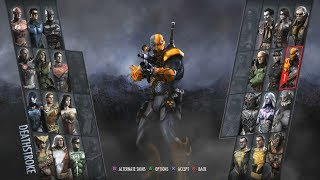 Injustice: Gods Among Us Arcade #12- Deathstroke thumbnail