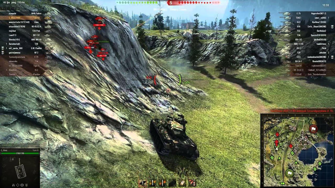 WOT AMX 13 75 matchmaking