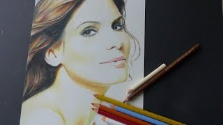 Drawing/shading Sandra Bullock
