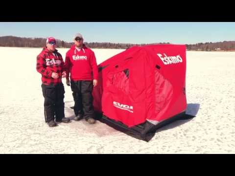 Flip over or Hub for one guy? - Ice Fishing Forum | In-Depth