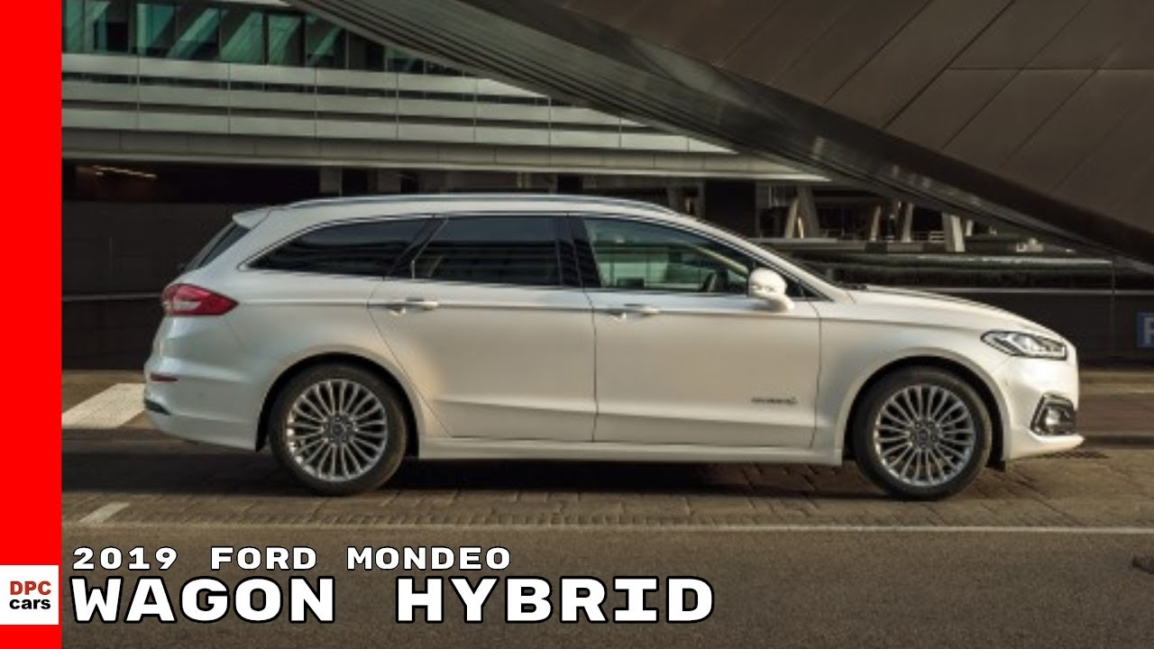 2019 Ford Mondeo Wagon Hybrid Youtube