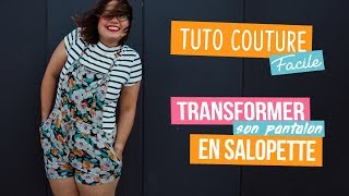Plus d'astuces et conseils pour réaliser cette salopette sur le blog : https://couturedebutant.fr/tuto-salopette/ Dans cette vidéo, je vous explique comment ...