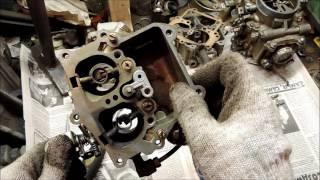 видео Принципы работы и регулировки карбюратора ГАЗ-53
