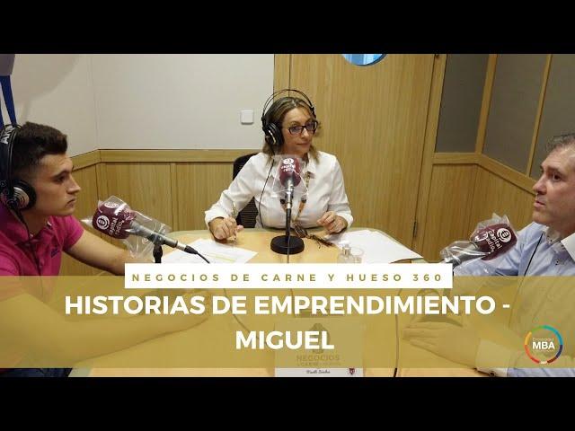 HISTORIAS DE EMPRENDIMIENTO con Mariló Sánchez-Fuentes / Miguel Moneo Carmona