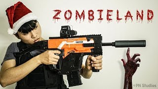 Nerf Zombie War: The Walking Dead (Christmas Dream)
