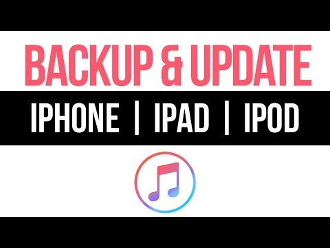 How to Backup & Update to the latest iOS - iPhone iPad iPod | 2019 | Using iTunes