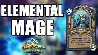 ELEMENTAL MAGE BOSQUE DAS BRUXAS ( Mago Elemental ) | Hearthstone