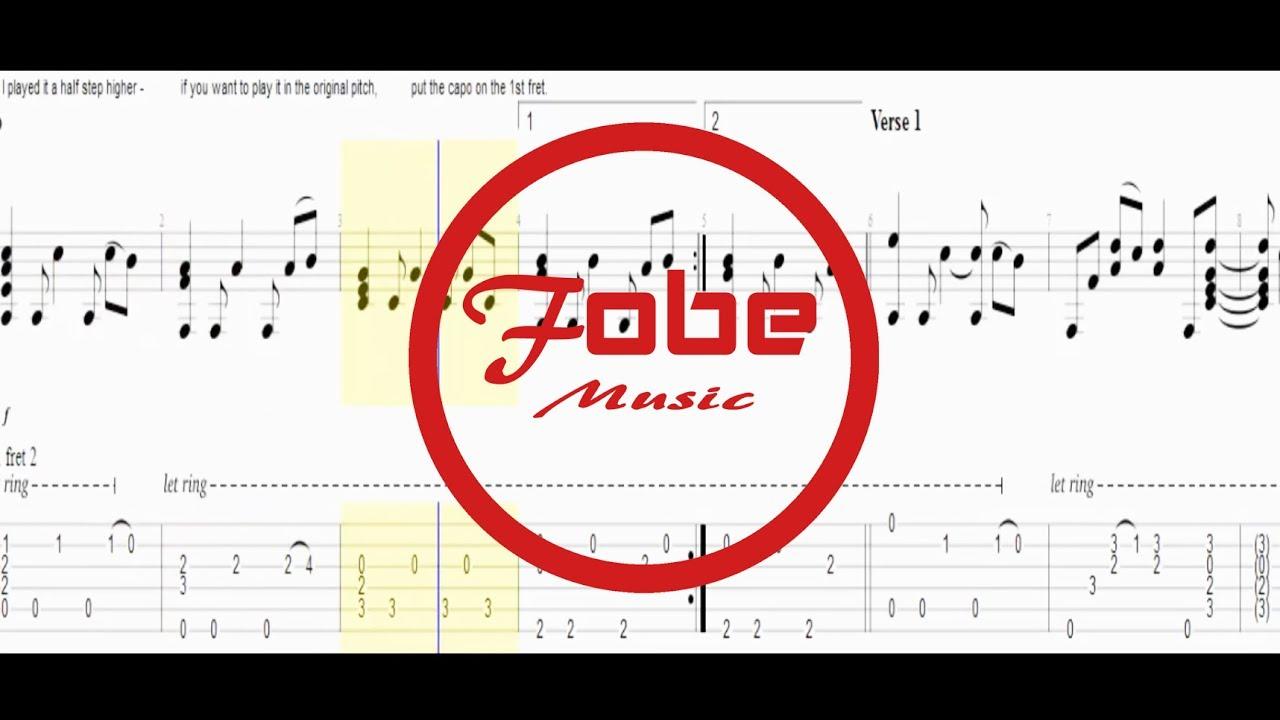 Chansons connues la guitare - Tabs4Acoustic