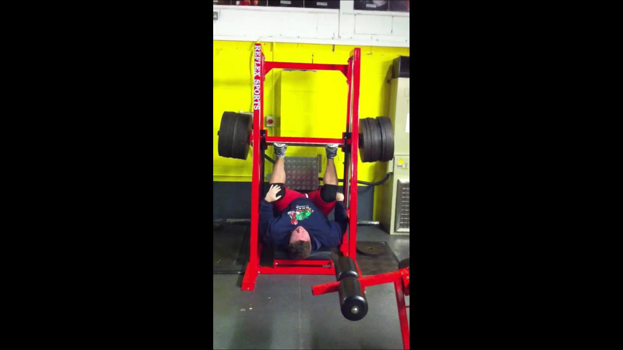 how to use vertical leg press machine
