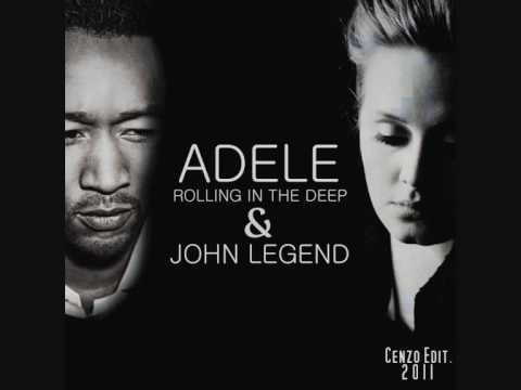 John Legend & Adele - Rolling In The Deep - YouTube