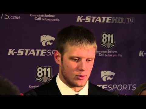 2012 Kansas State vs. Texas Tech: QB Collin Klein postgame press conference