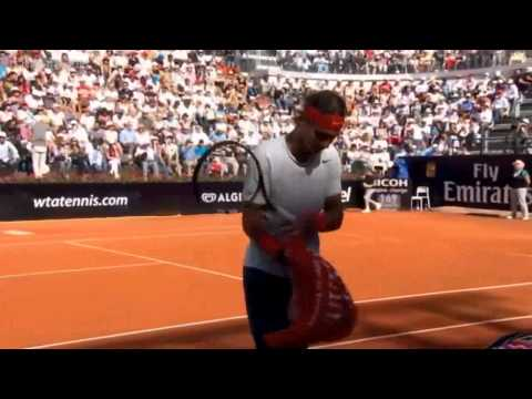 Nadal vs Federer  Masters Rome 2013 Final   Full Match HD English
