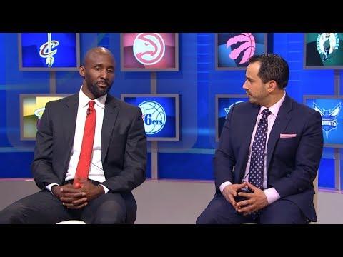 LLoyd Pierce Atlanta Hawks new head coach joins the show   NBA GameTime   May 14, 2018