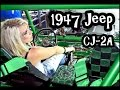 Custom 1947 Willys Jeep CJ2A - Never Done