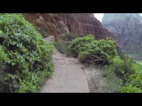 Hiking Angels Landing @ Zion Natl Park 7.4.13