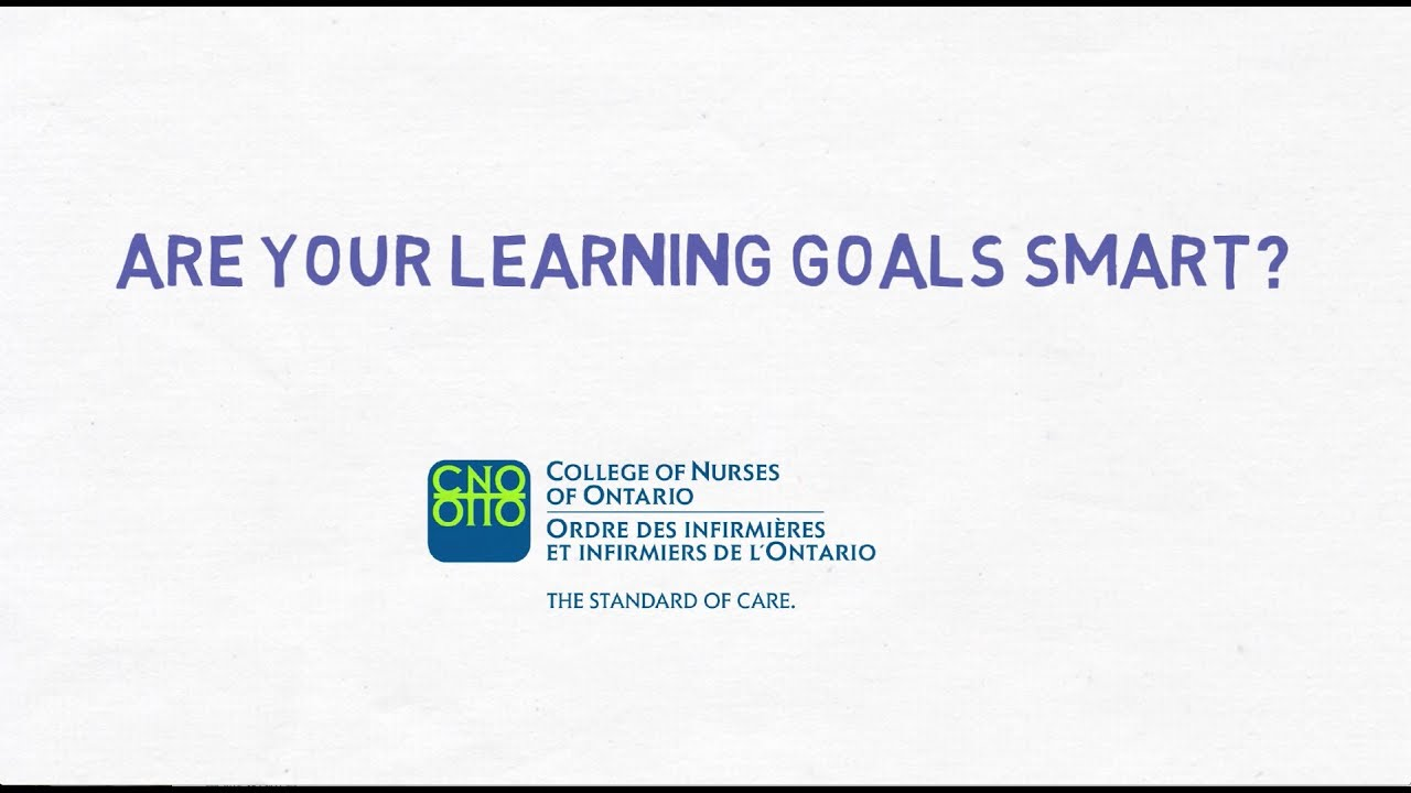 qa resources watch this video and use the guide to help you write smart learning goals for your