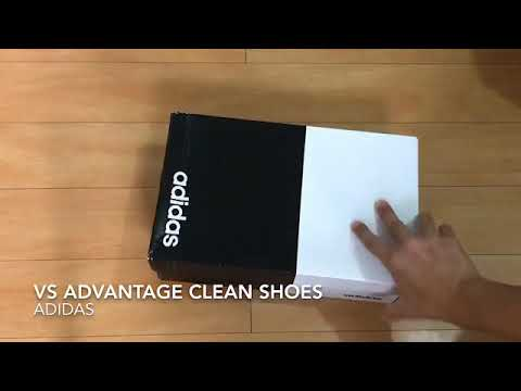 Unboxing 002 - Adidas VS Advantage Clean Shoes