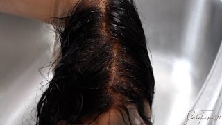 HOW TO: Bleach knots on a 360 Lace Frontal | NO TONER!