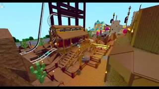 Sequoia Adventure Rollercoaster POV on Roblox! Theme Park Tycoon