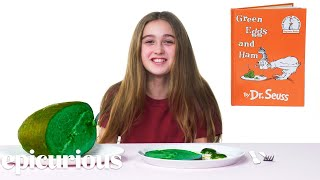 Kids Try Famous Foods From Children