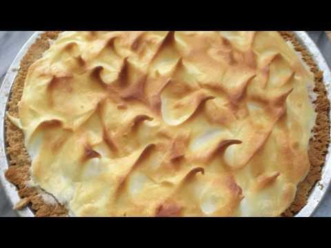 Low Carb and Sugar Free Lemon Meringue Pie
