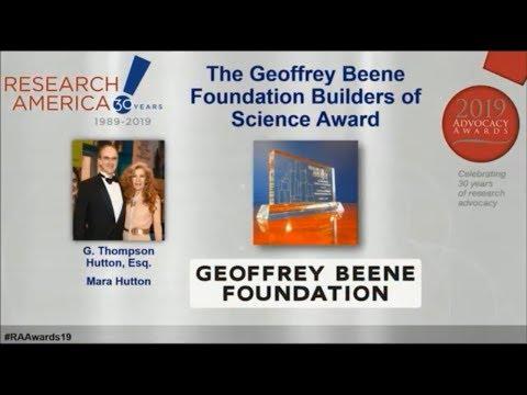 Science Award - Geoffrey Beene Foundation