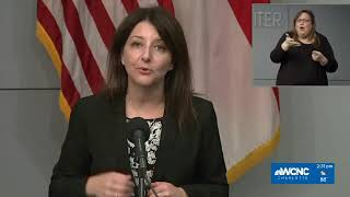 LIVE: Cohen to address COVID-19 data as North Carolina reports nearly 1,200 new cases
