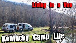 Kentucky Camp Life - Liטing in a Van 11/2020