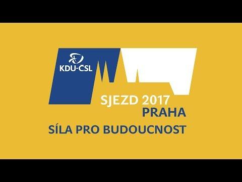 Záznam - Sjezd KDU-ČSL - 1. den jednání od oběda