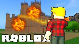 💎ZNISZCZYŁEM the WHOLE CASTLE in ROBLOXIE!  And ROBLOX #228 💎