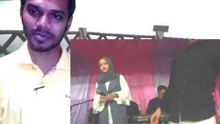 Gambar cover Reaction to Tum Hi Ho Nissa Sabyan #TWO-C