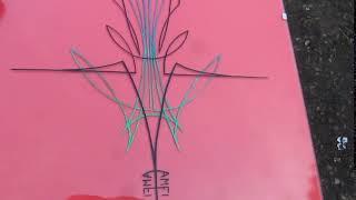 Pinstripe colour test