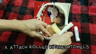 간단한 치아모형 만들기와 양치질 연습