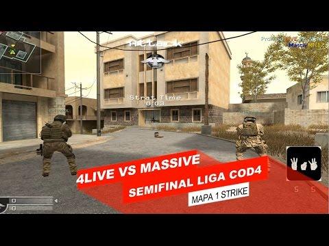 Call Of Duty 4   Semifinal liga chile   4LivE vs MASSIVE 2 mapas