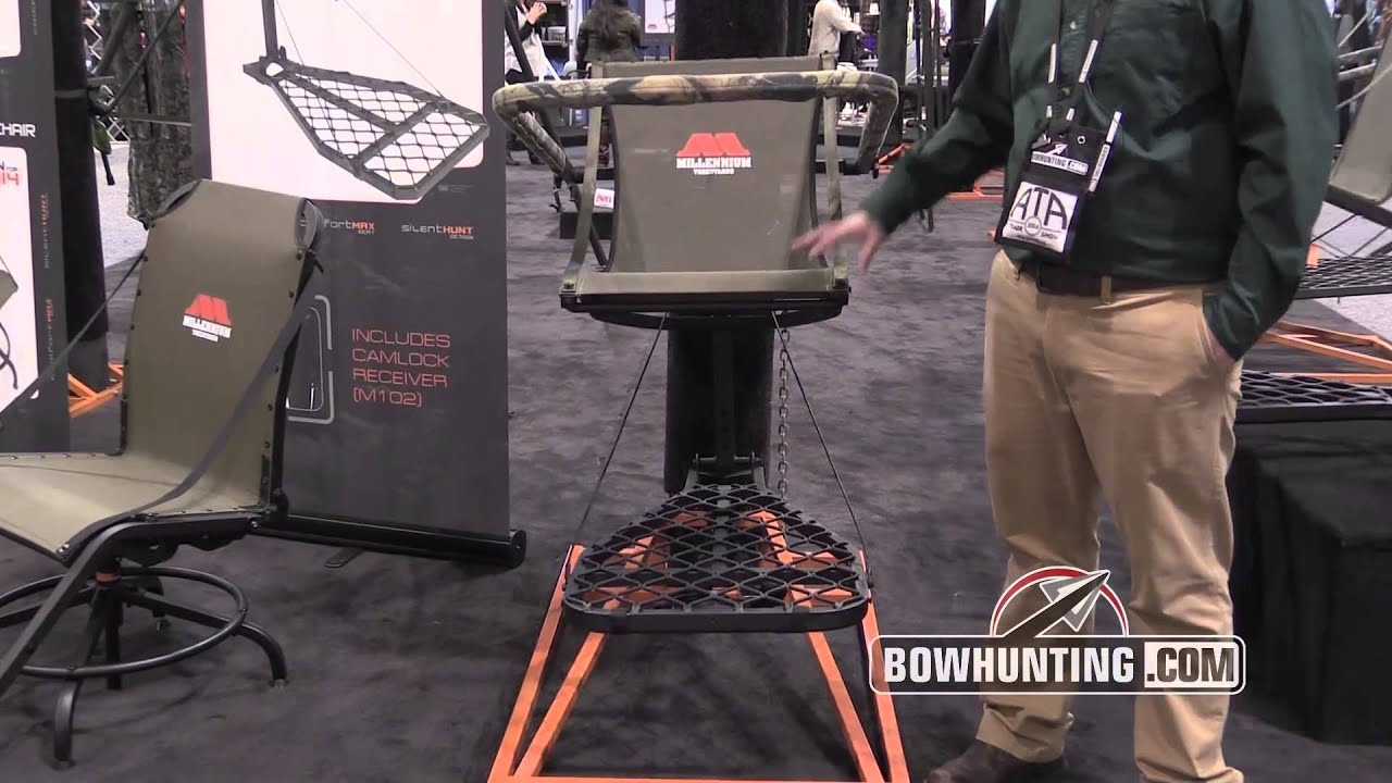 2014 New Bowhunting Amp Archery Gear Millenium Treestands