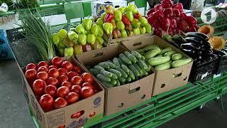 Цены на овощи и фрукты