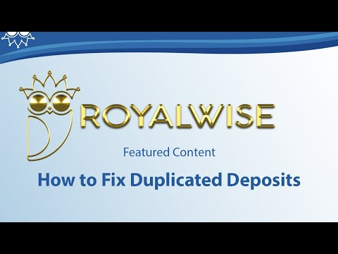 How to Fix Duplicated Deposits from a Banking Feed in QuickBooks Online